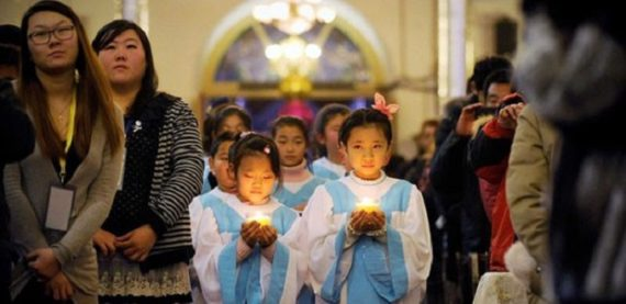 églises catholiques interdites mineurs Chine février