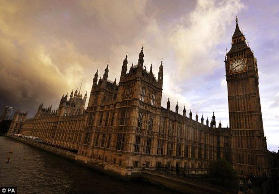 loges maçonniques élus journalistes parlement britannique