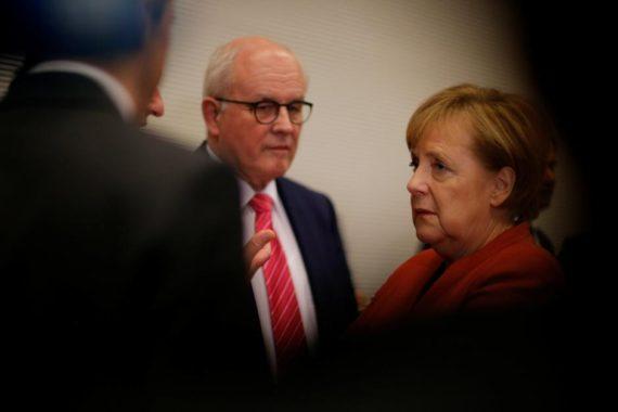 Allemagne grande coalition Merkel SPD