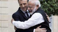 Emmanuel Macron et Narendra Modi président l'inauguration de l'Alliance solaire internationale à New Delhi – sous le signe des védas