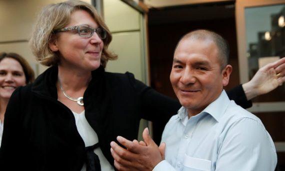 Changement climatique poursuivre compagnie électricité RWE fermier péruvien cour Allemagne