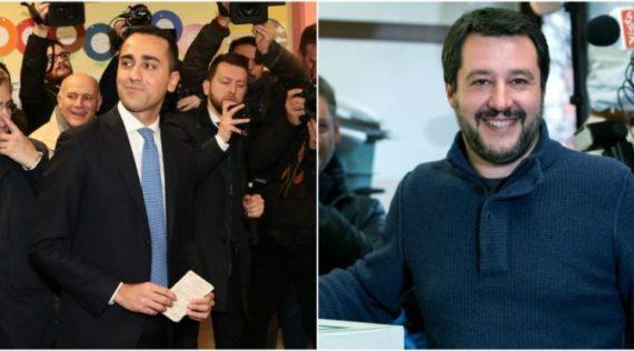 Elections Italie Cinq Etoiles Ligue Nord Monde Ancien