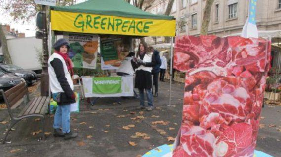 Fin changement climatique Greenpeace rêve monde vegan