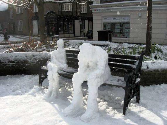Grand froid réchauffement climatique