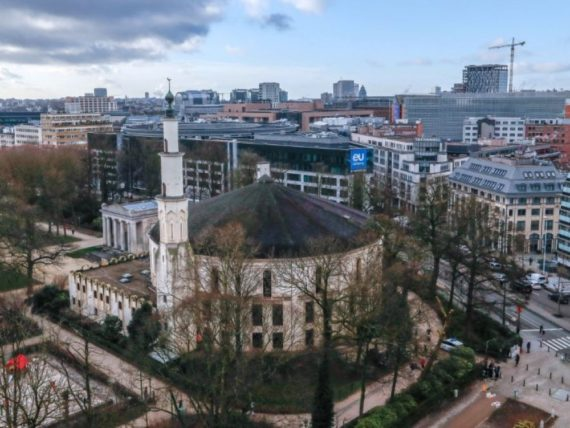 Grande mosquée Bruxelles Arabie saoudite islam tolérant
