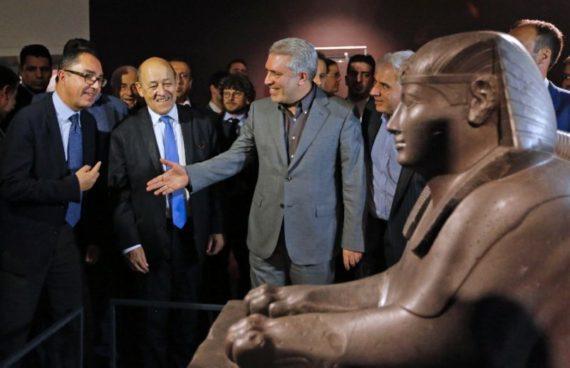 Louvre expose Téhéran