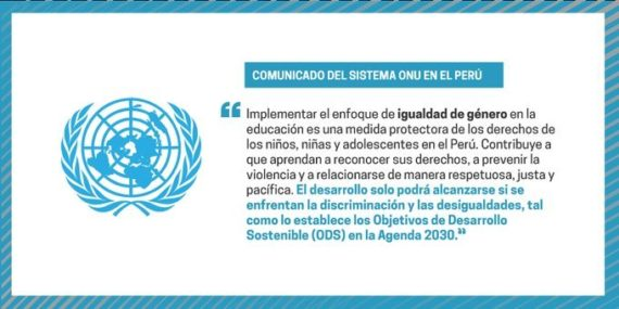 ONU proteste contre suppression idéologie genre programmes scolaires péruviens