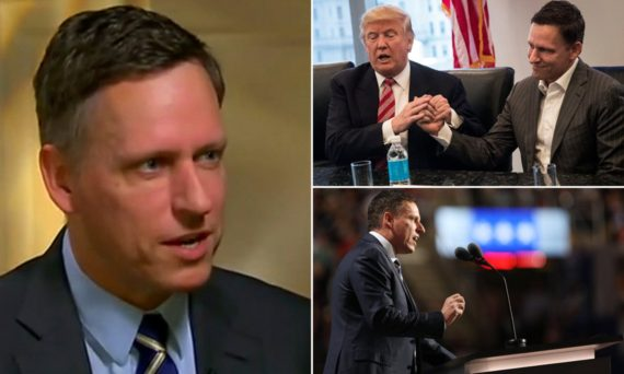 Peter Thiel Silicon Valley lieu totalitaire