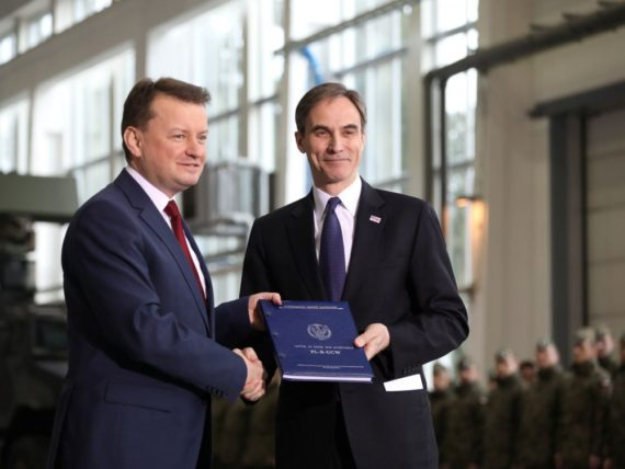Pologne système antimissile Patriot