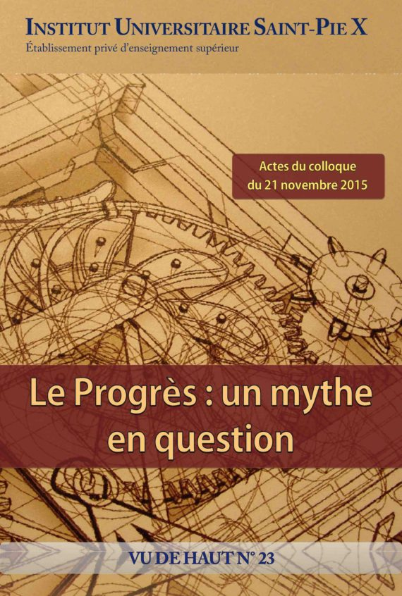 Progrès mythe question