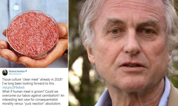Richard Dawkins finir tabou cannibalisme
