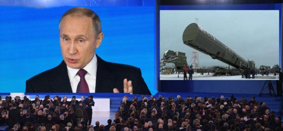 Russie missile propulsion nucléaire Kinzhal Vladimir Poutine