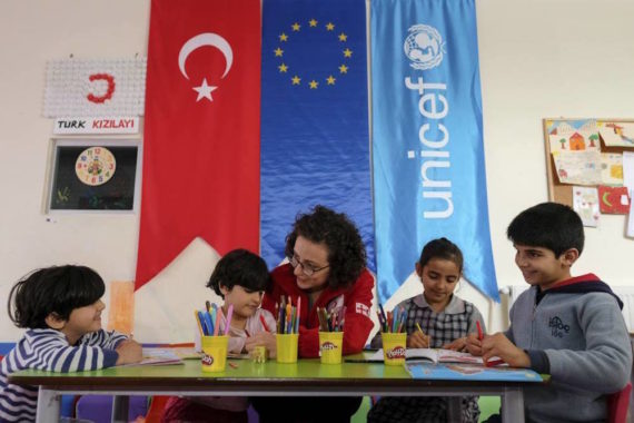 UE offre argent Turquie réfugiés syriens