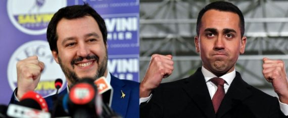 euro Législatives Italie Di Maio Salvini M5S Ligue