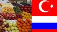 Les importations de fruits et légumes depuis la Turquie de nouveau autorisées par la Russie
