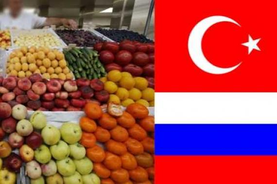importations fruits légumes Turquie Russie