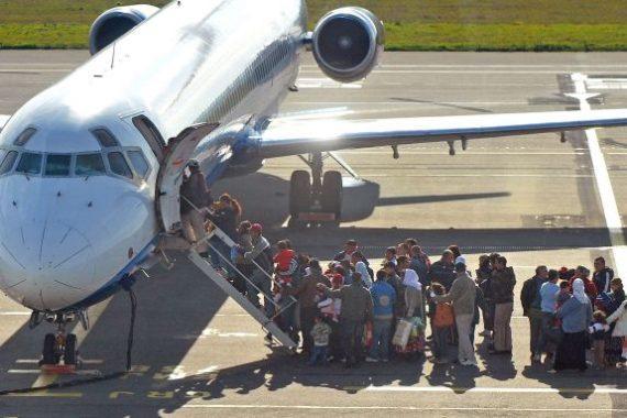 migrants clandestins Allemagne avion