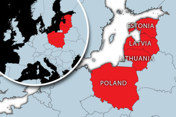 pays baltes opposeront sanctions Pologne