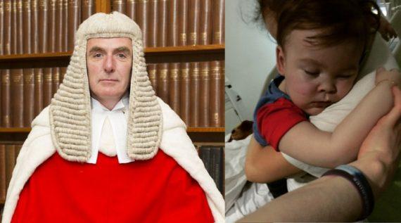 Alfie Evans juge Anthony Hayden lobby LGBT activiste pro gay