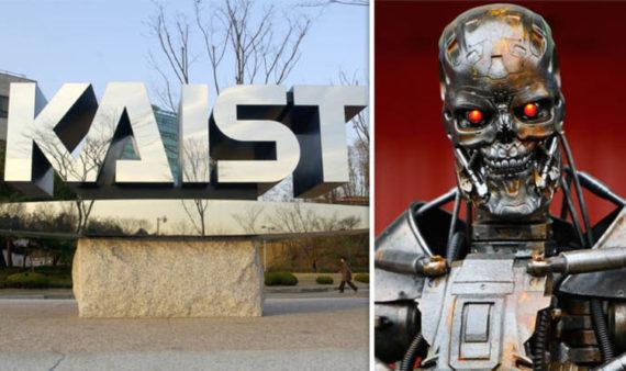 Armes autonomes université sud coréenne robots tueurs