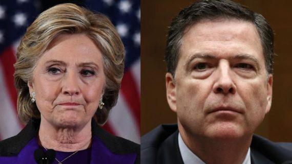 Congrès poursuites Clinton Comey