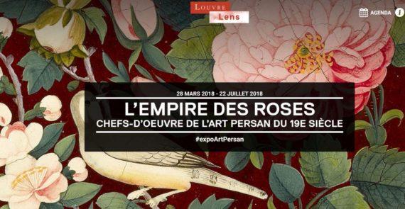 Exposition HISTOIRE ART Empire Roses film jovien