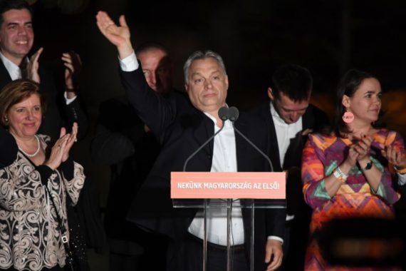 Hongrie Orban élections victoire