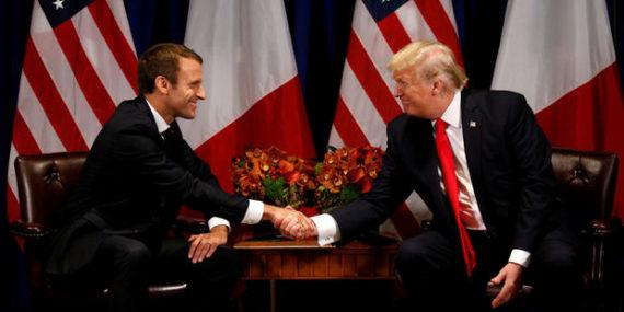 Macron Chouchou Mondialisme Trump cancre Copains Ennemis Mort