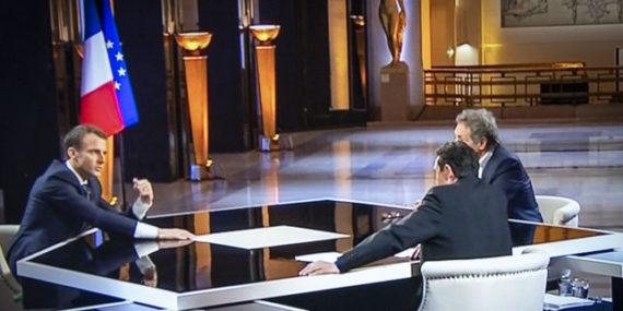 Macron Vendre Mondialisme Realiste Pernaut Bourdin Plenel