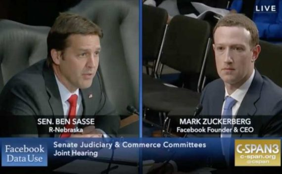 Mark Zuckerberg Facebook Sénat Ted Cruz Ben Sasse
