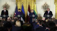 Devant les présidents des pays baltes, Trump a critiqué l'Allemagne pour son projet de gazoduc Nord Stream 2 avec la Russie