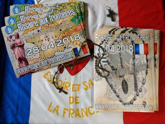 Rosaire frontières France samedi 28 avril