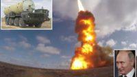 Vladimir Poutine fait réaliser un nouveau tir d'essai de missile, anti-satellites cette fois