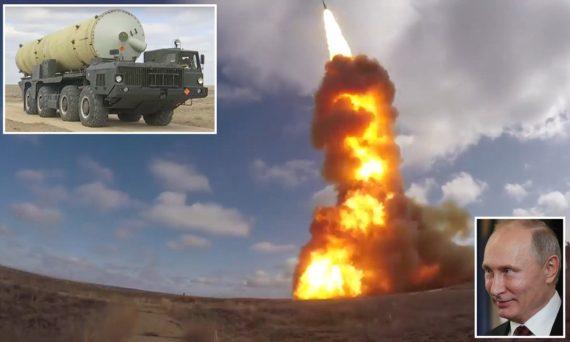 Vladimir Poutine nouveau tir essai missile anti satellites