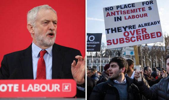antisémitisme gauche travaillistes Corbyn Labour Royaume Uni