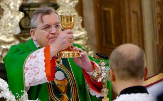 cardinal Burke envisage excommunication résistance enseignements doctrine Eglise