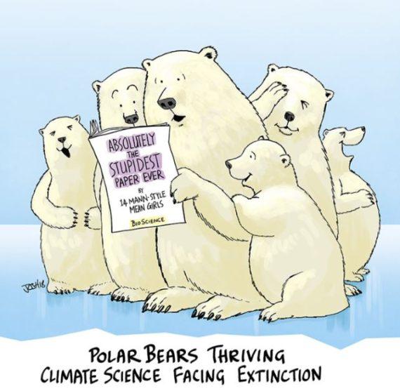 polaire danger Susan Crockford Mitchell Taylor climato alarmistes