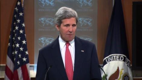 Kerry préoccupé par les affrontements en mer de Chine