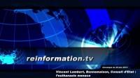 Vincent Lambert, Bonnemaison, Conseil d'Etat : l'euthanasie menace</br>RITV Vidéo