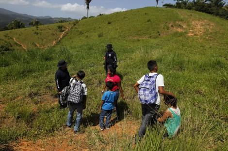 Les immigrants illégaux honduriens et guatémaltèques vont rentrer à la maison