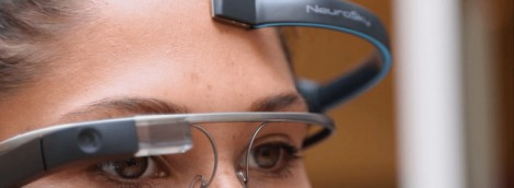C'est possible : contrôler Google Glass par la pensée