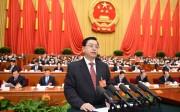 La phrase :  « La décision a été prise solennellement après avoir écouté les opinions des différents secteurs de Hong-Kong »