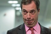 Le Britannique Nigel Farage sauve son groupe européen