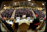 Rapport d'étape, homosexuels: synode des médias contre synode des évêques