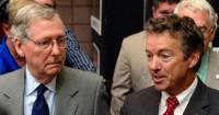 USA: le futur président républicain du Sénat soutient Rand Paul