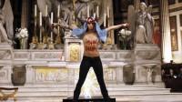 Sursis pour Eloïse Bouton, l'ex-Femen qui a simulé un avortement à la Madeleine