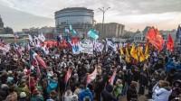 Manifestation à Moscou contre la réforme de la santé