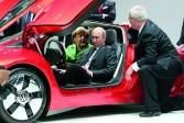 Angela Merkel fait pression sur Vladimir Poutine