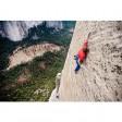 Deux grimpeurs sur l'un des murs les plus difficiles de la planète