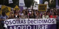 Espagne: nouvelle initiative pour limiter l'avortement. Plus qu'insuffisante